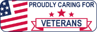 Logo Recognizing Fixing Feet PLLC's affiliation with Veterans
