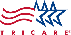 Logo Recognizing Fixing Feet PLLC's affiliation with Tricare